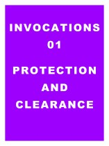 Invocations 01: Protection and Clearance